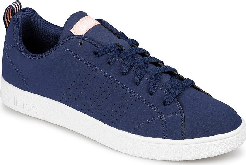 Tenis adidas Vs Advantage Azul rosa Dama Con Caja