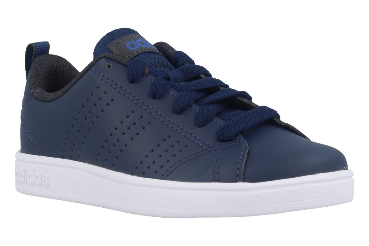 Tenis adidas Vs Advantage Azul Talla # 24 Original