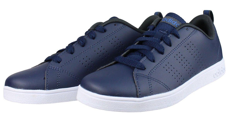 Tenis adidas Vs Advantage Azul Talla # 4.5 Original