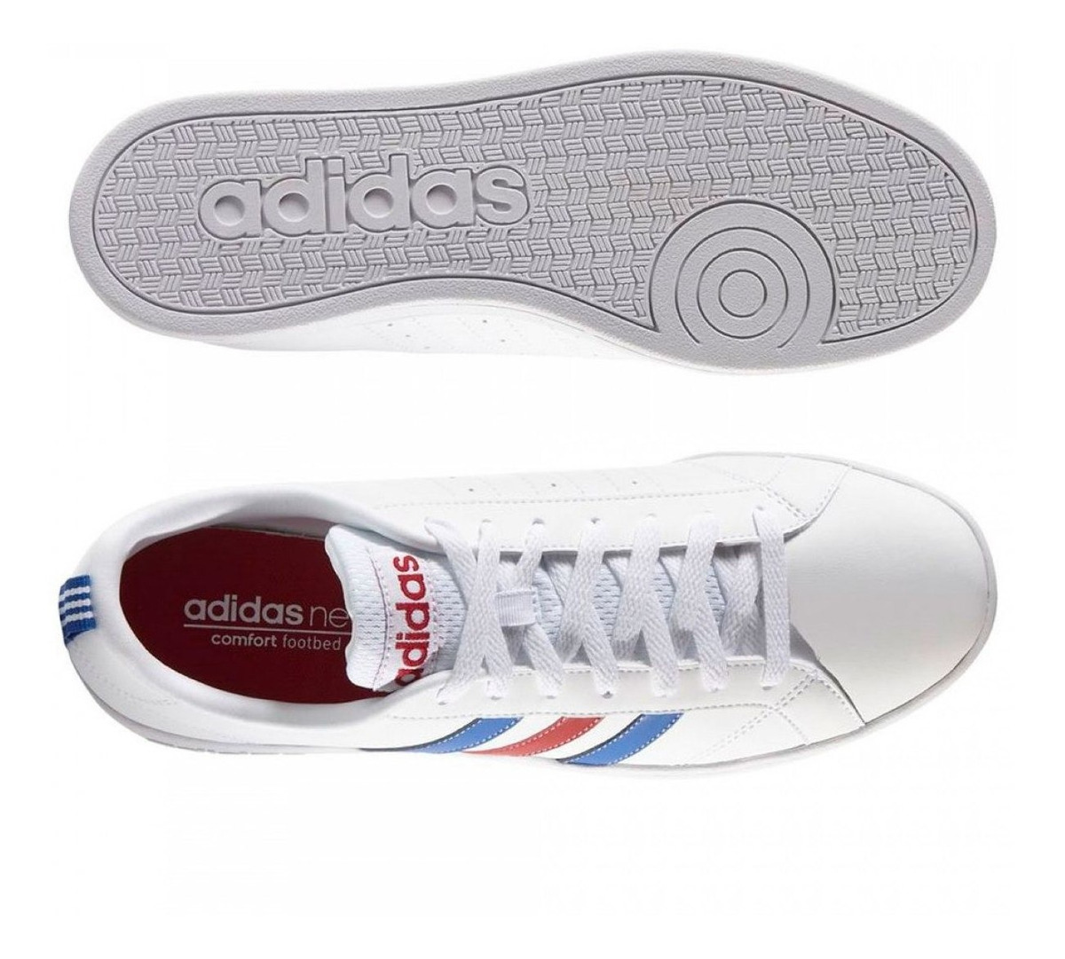Tenis adidas Blancoazul Blancoazul Tenis Tenis Vs adidas Advantage Vs Advantage adidas Vs Advantage OkwPn0
