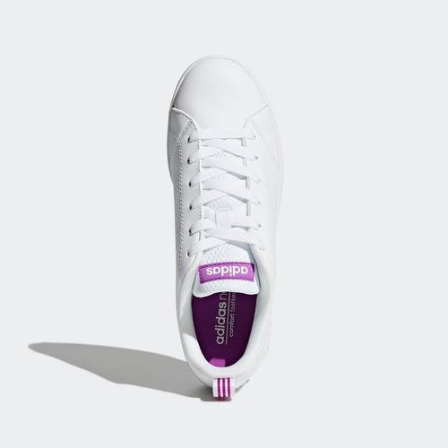 tenis adidas vs advantage clean mujer bb9616 look trendy