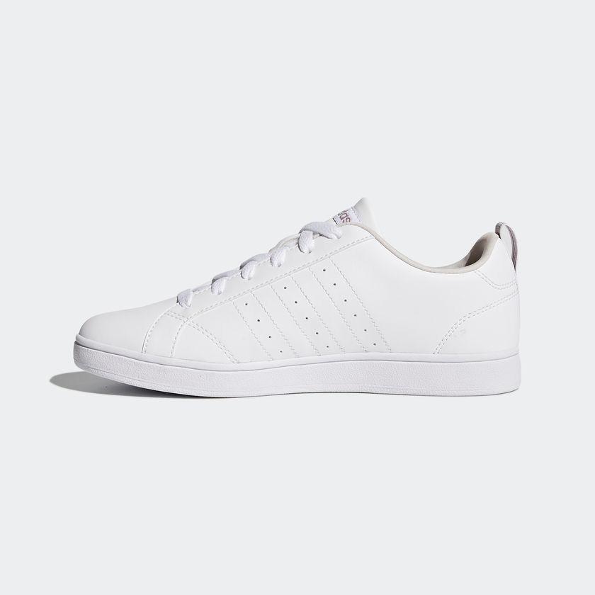 Tenis adidas Vs Advantage W Blanco plata Para Mujer 67426