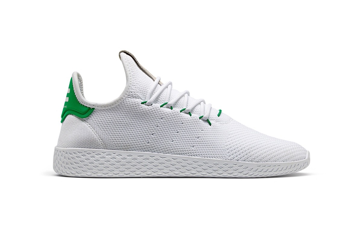 Tenis adidas X  Pharrell Williams Hu Blanco/Verde  X 1,499.00 en af9612