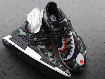 02f828cc13f8 Tenis adidas X Pharrell Williams Nmd Bape Camo -   1