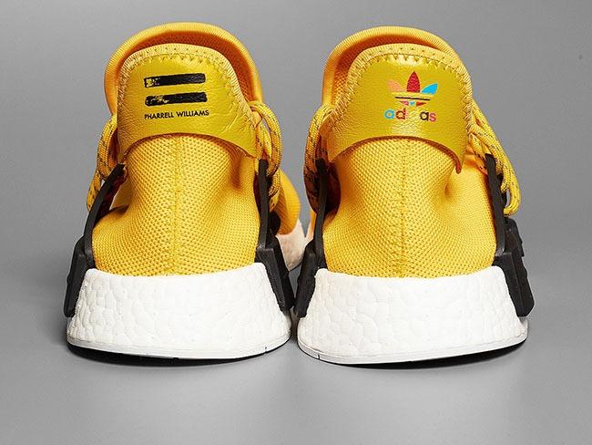 9c6fb51cad84a Tenis adidas X Pharrell Williams Nmd Human Race Yellow -   1
