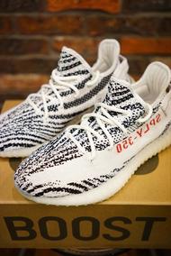 Tenis adidas Yeezy 350 Zebra