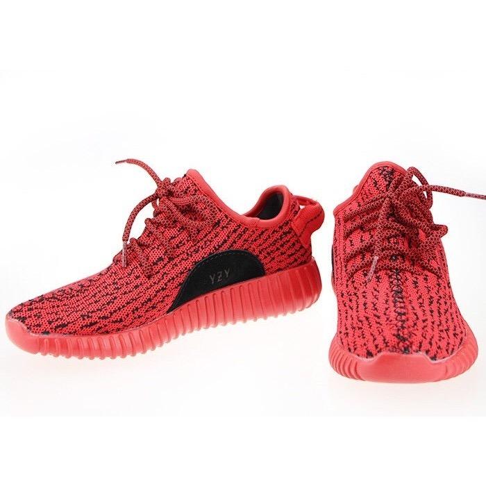 new product 555d1 39095 new style adidas yeezy boost 350 rojo dcedf 4b15b