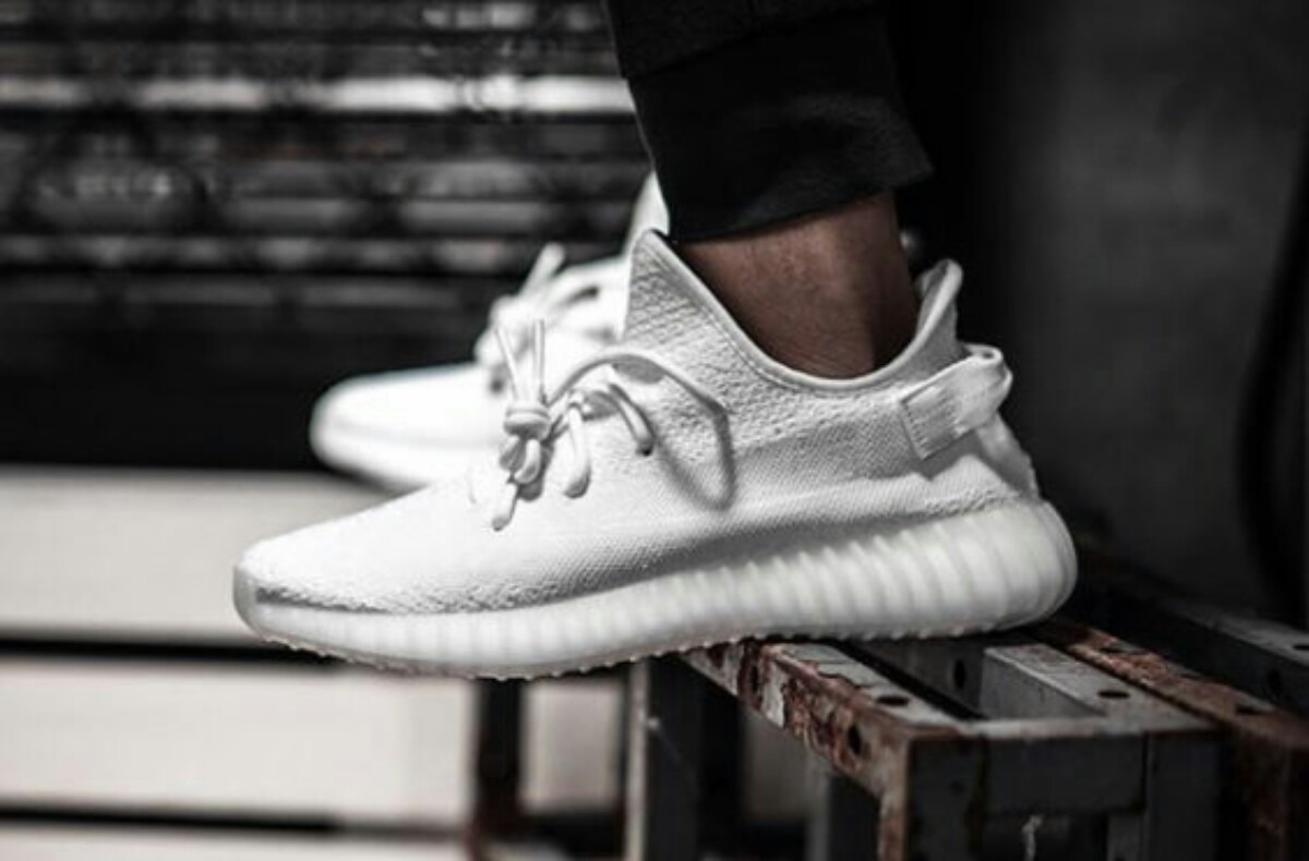 adidas yeezy white cream
