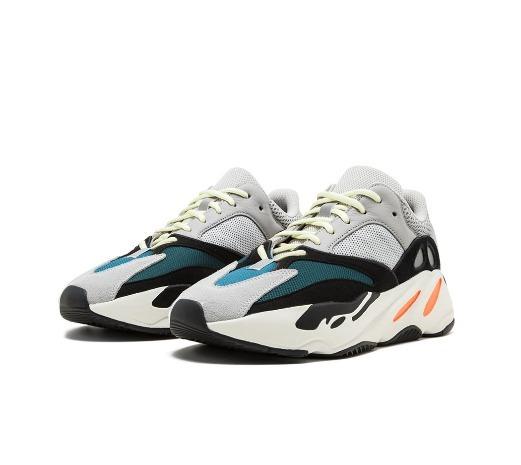 27a52b45574 Tenis adidas Yeezy Boost 700 Wave Runner Kanye West Original - R ...
