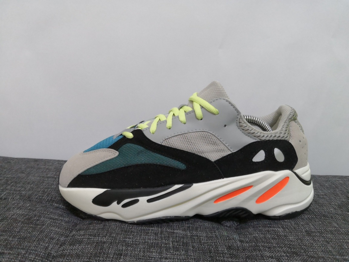 6f965c7a4ae77 tenis adidas yeezy boost 700 wave runner solid grey envio gr. Cargando zoom.