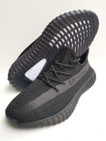 Tenis adidas Yeezy Boost Black Grey Hombre