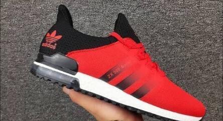 hot sales 5a8f7 13672 Tenis adidas Zx 500 Boost Rojo-negro Originales Oferta.