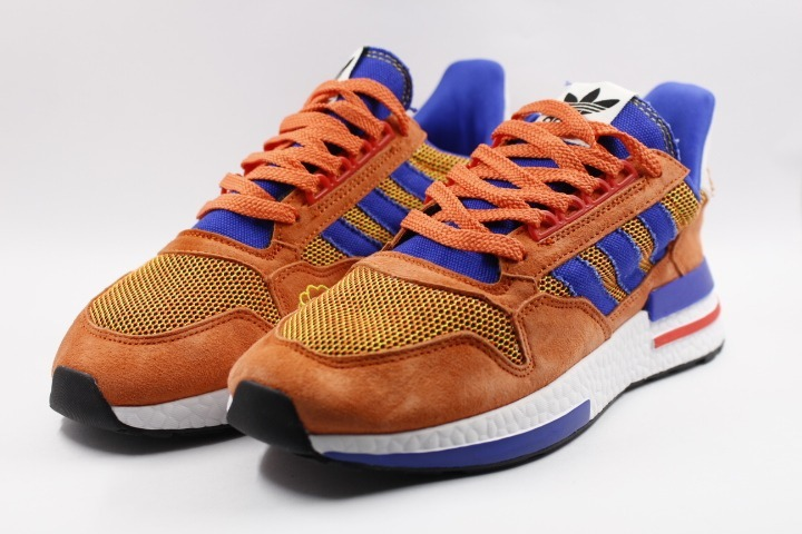 c8be9f046a5 Tenis-adidas Zx 500 Rm - Dragon Ball Z Goku - Limitadas -   200.000 ...