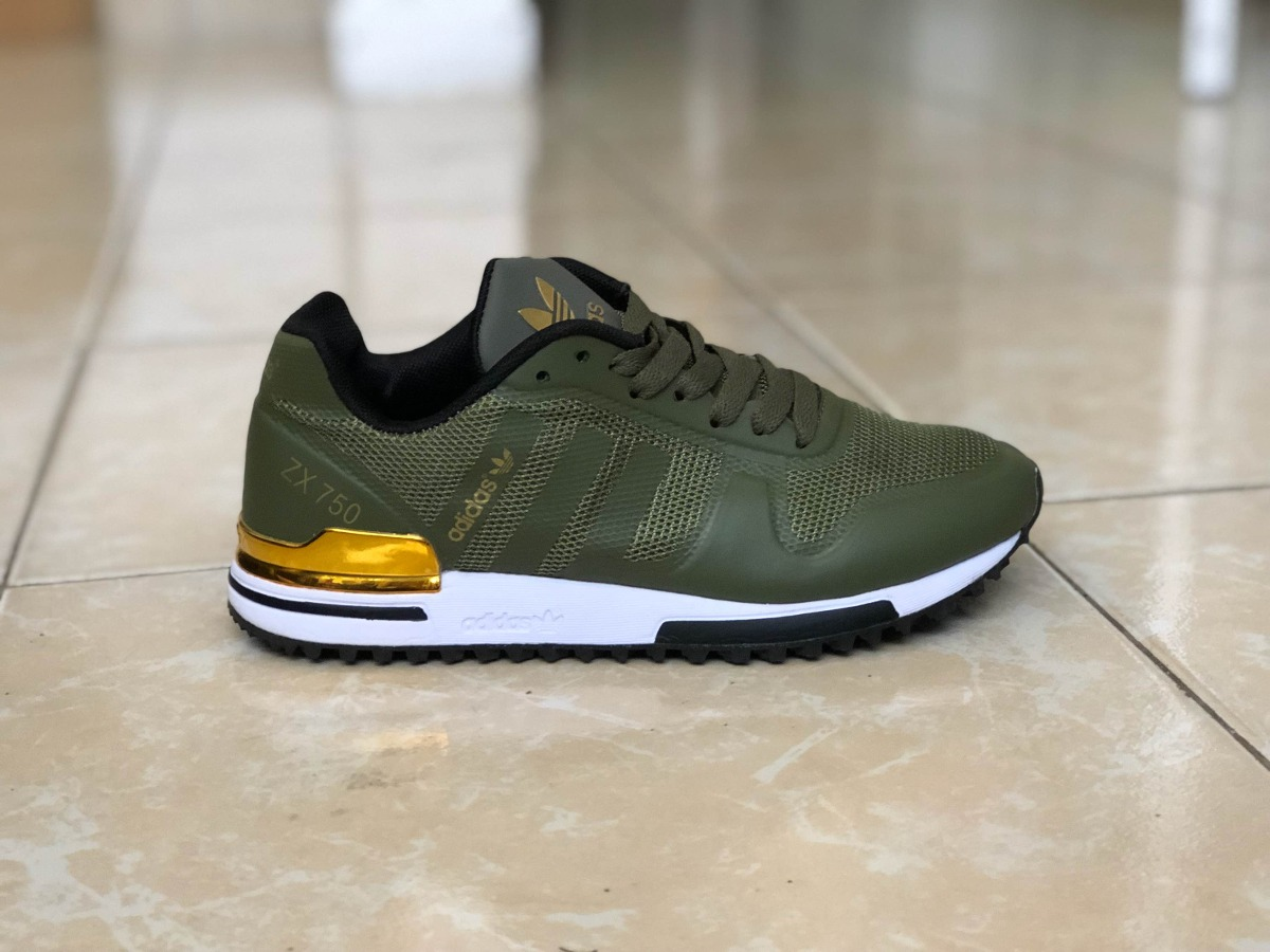 Adidas zx 750 verde militare arancio (41) amazon shoes