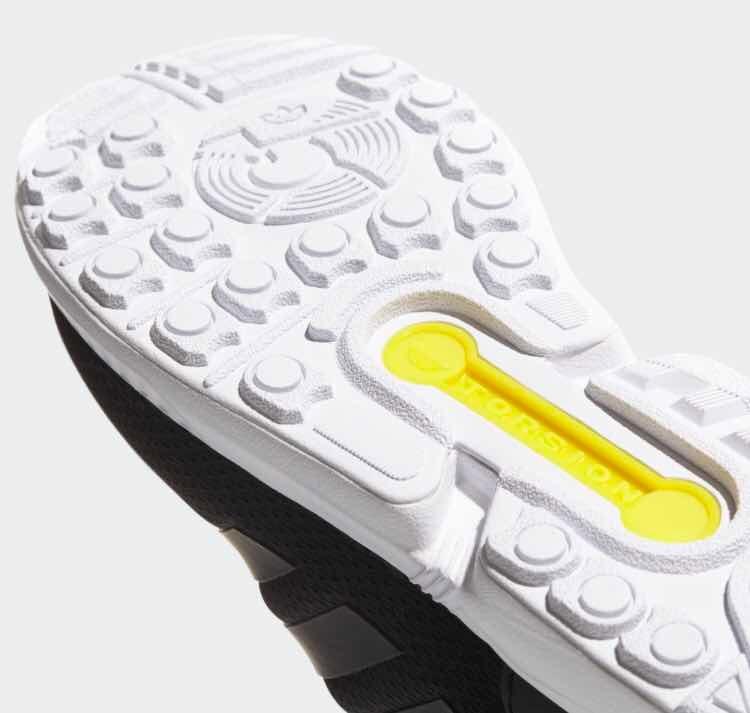 bec96fc8ea1 Tenis adidas Zx Flux Neg bco Talla  27 Mex Con Su Caja! -   1