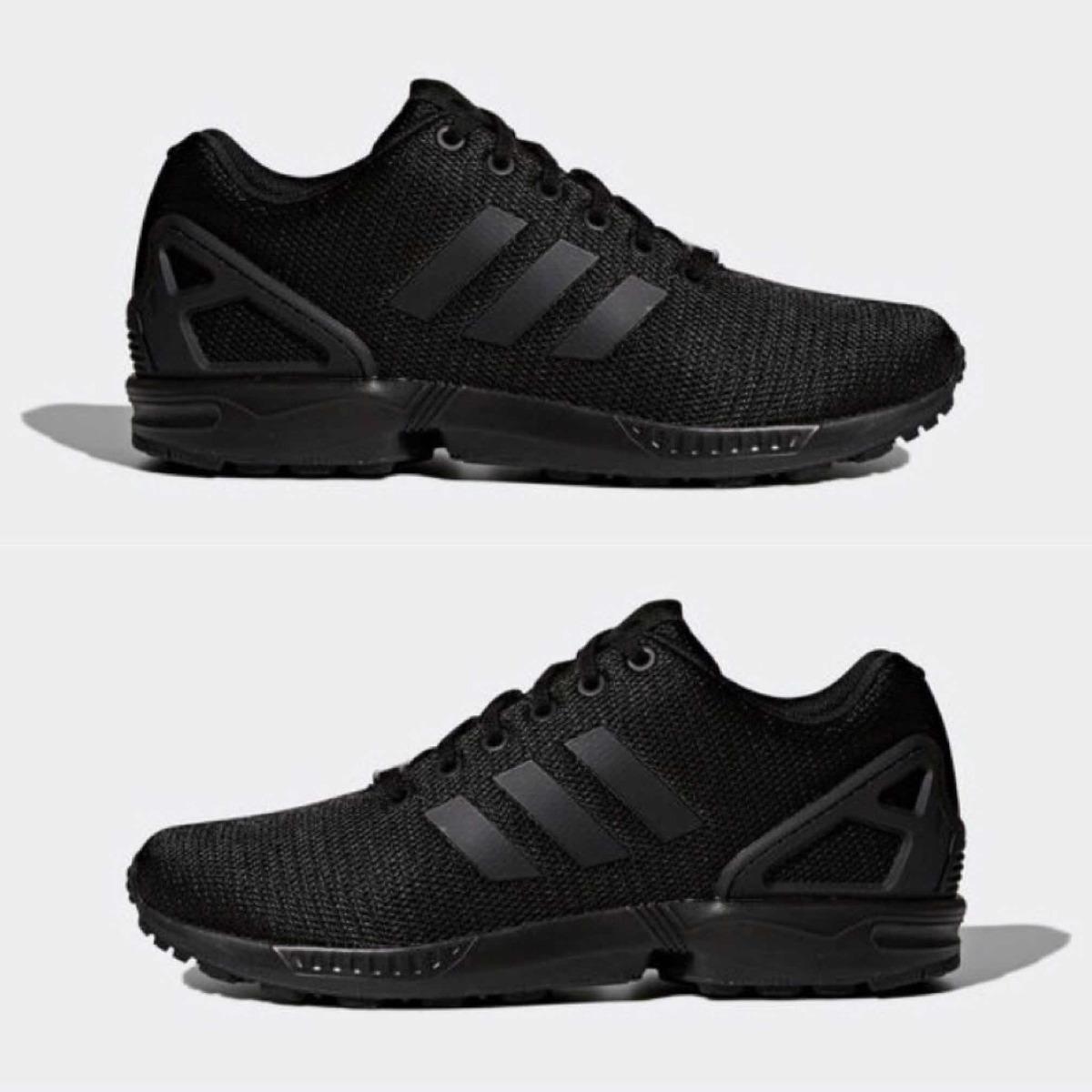 c4ac9894ae6c4 good zapatillas adidas zx flux negro blanco hombre 38c60 9caca  good tenis  adidas zx flux negro. talla 8. envío gratis. cargando zoom.