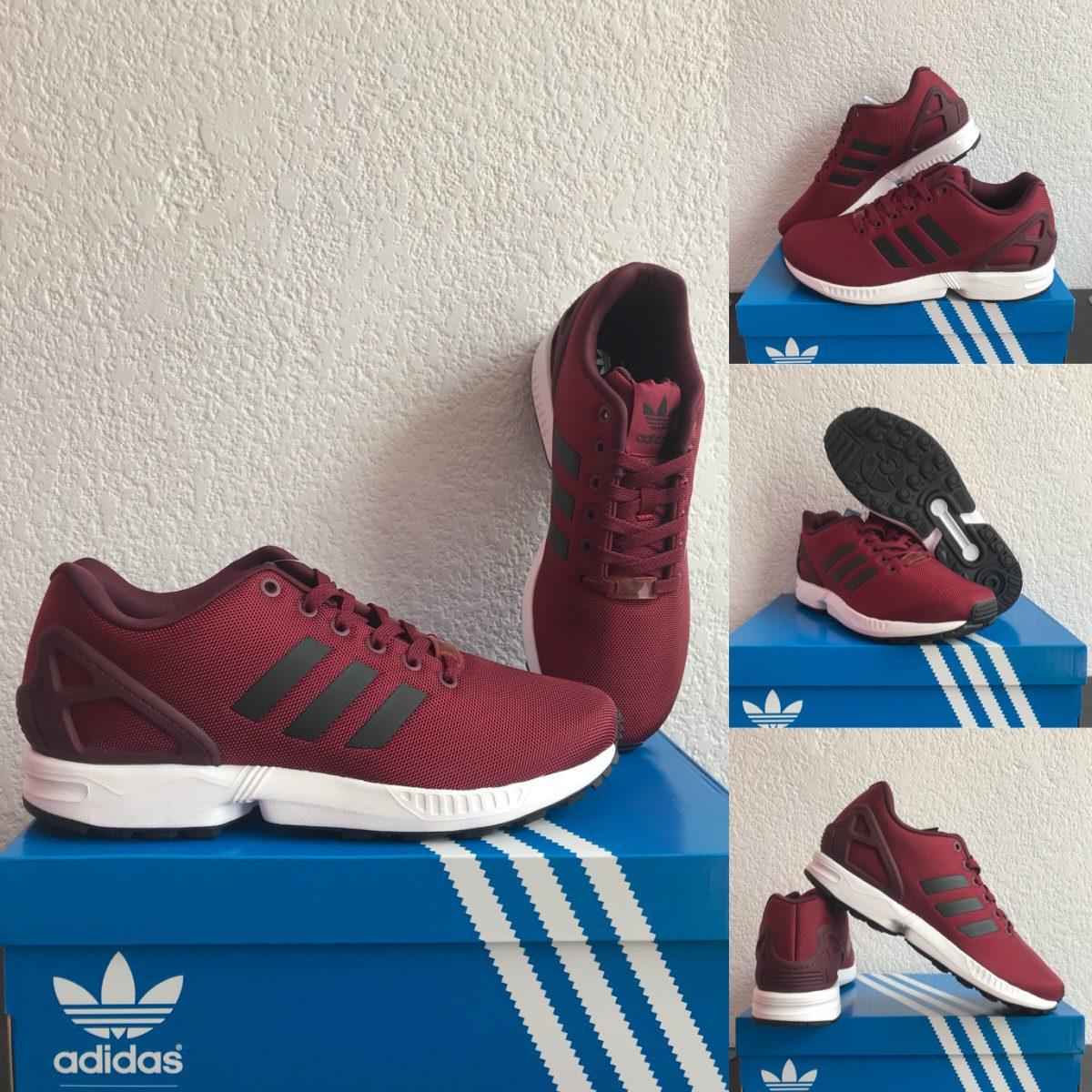 best sneakers c7bcc c546e tenis adidas zx flux vino.talla 6. originales. Cargando zoom.