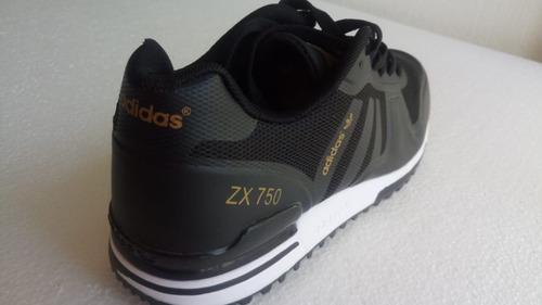 tenis adidas zx750 negros !!!