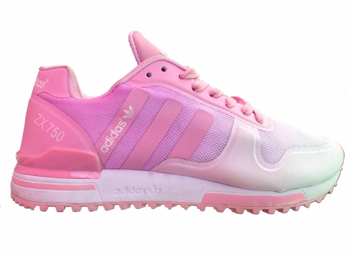 new style 6995c ff5fe ... hot tenis adidas zx750 rosa blanco. cargando zoom. 4b103 dd9b0