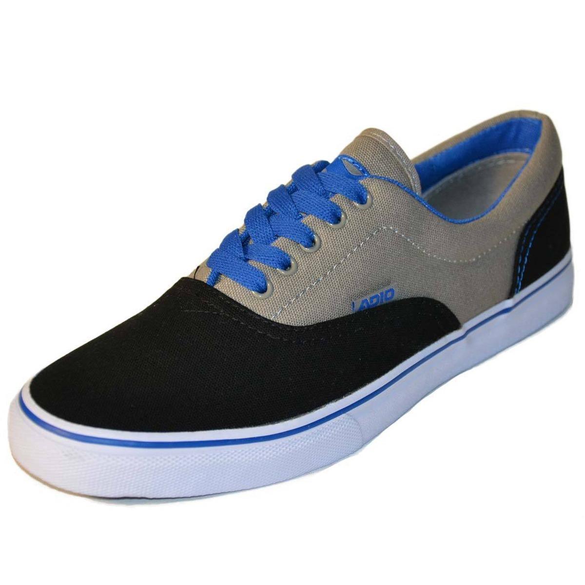 Tenis Adio Cruiser Gris Azul Skate Casual Vans Dc -   899.00 en ... a38fa4a2557