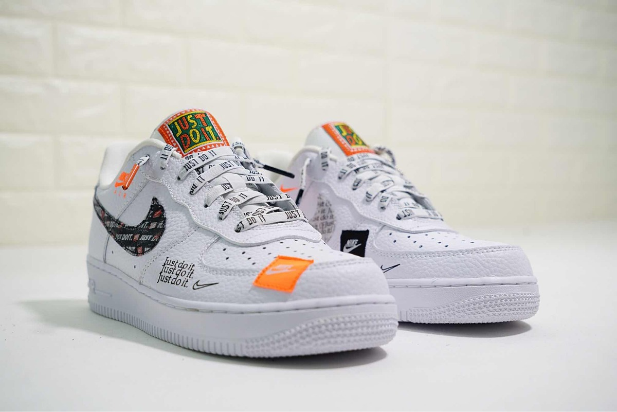 ... Nike tenis air force 1 low just do it white. Cargando zoom. 00c4a1ee8b50