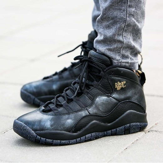 meilleur service 422a2 36535 Tenis Air Jordan 10 X Retro Bg Gs 310806-012 Nyc City Pack