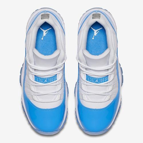 8f1489494ad3ea Tenis Air Jordan 11 Retro Low Carolina Blue - R  550