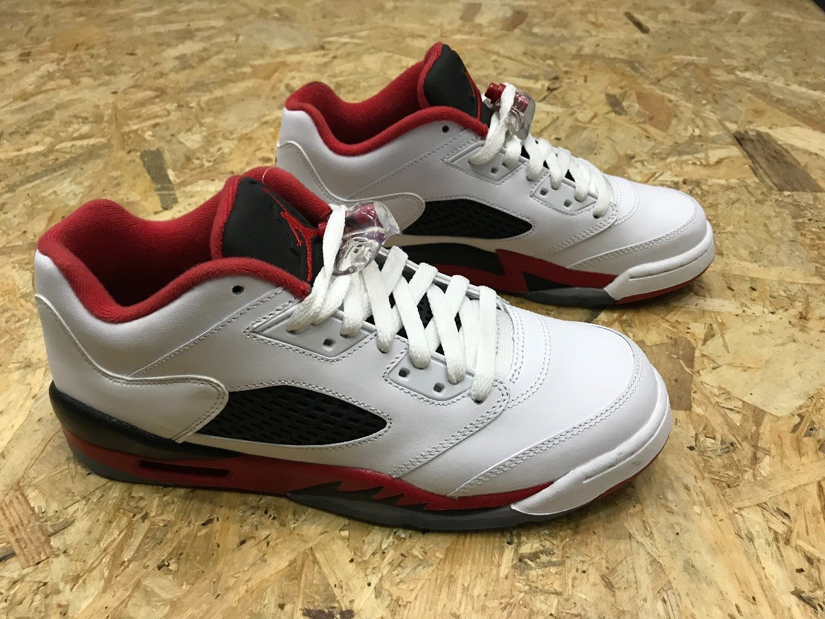 best sneakers fc695 fd9fe tenis air jordan 5 retro low (gs)  fire red  314338-101. Cargando zoom.