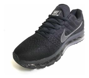 Tenis Air Max 2017 2 Colores!!! Triple Blackhi Blue