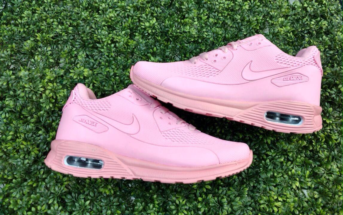 tenis air max rosa