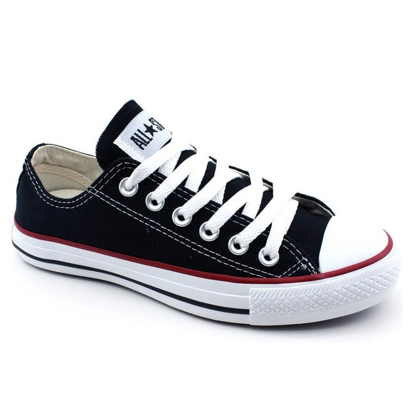 6a82e9306 tenis all star converse cano baixo ct as core ct114 preto. Carregando zoom.