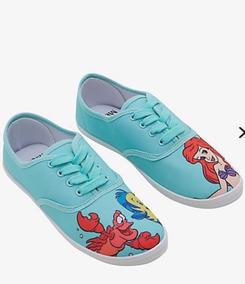 Tenis Ariel Sirenita Disney Princesas Exclusivos Hottopic