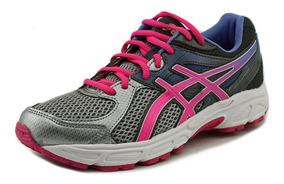asics pre-contend 4 junior girl's running shoes queretaro