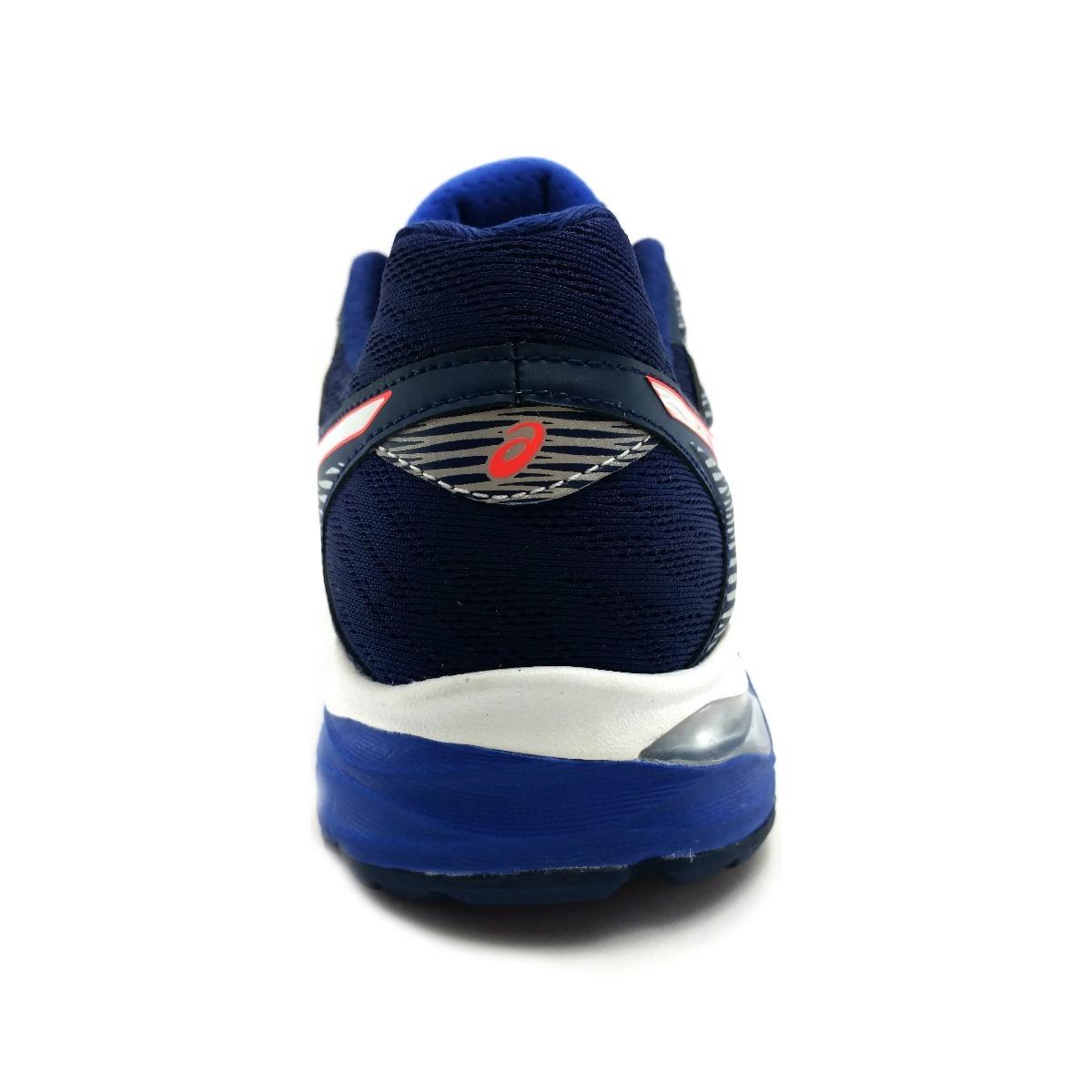 806bbe88563 tenis asics gel flux 4 azul correr running. Cargando zoom.