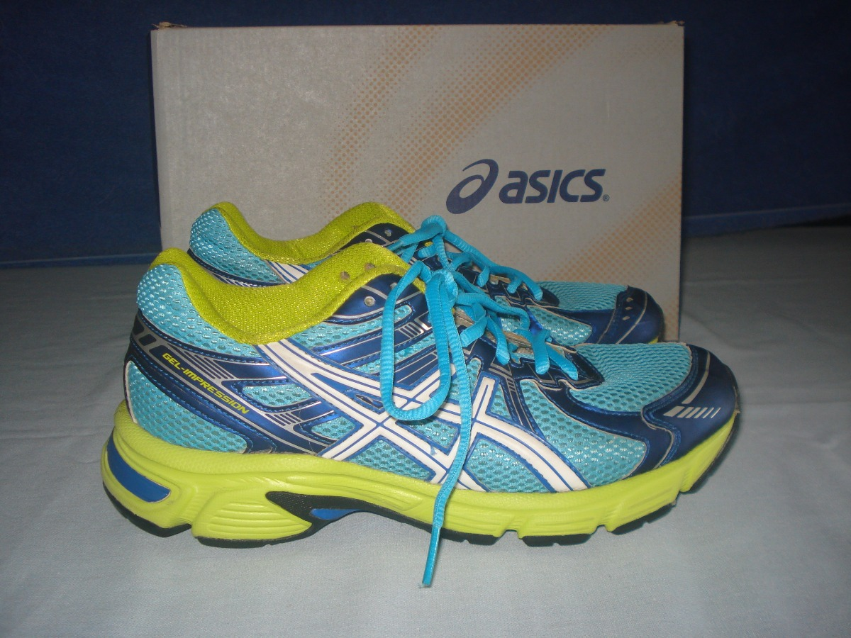 c17ecdf141a7b Tenis Asics Gel Impression 6 Light-blue 37 Na Caixa - R  195