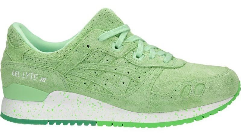 asics gel verde