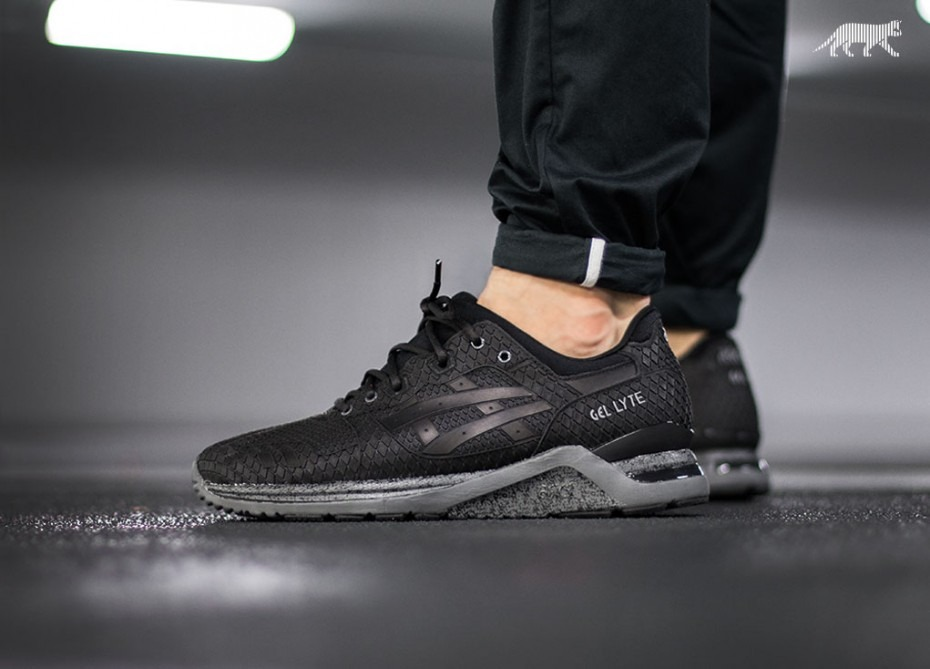 0108f759e7e Tenis Asics Gel-lyte Evo  samurai Pack  (black   Dark Grey ...