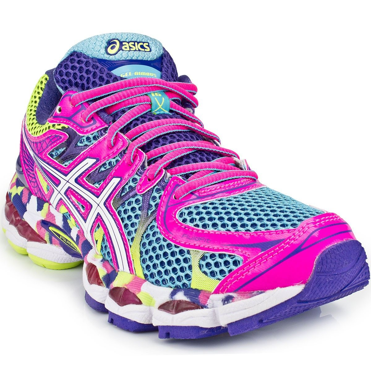 92b41f344b ... cheap for sale eafe6 33b30 tenis asics gel-nimbus 16 running dama talla  27mx. ...