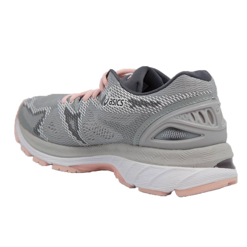 tenis asics gel nimbus 20 feminino cinza rosa lindo. Carregando zoom. 3f1f6568bc649