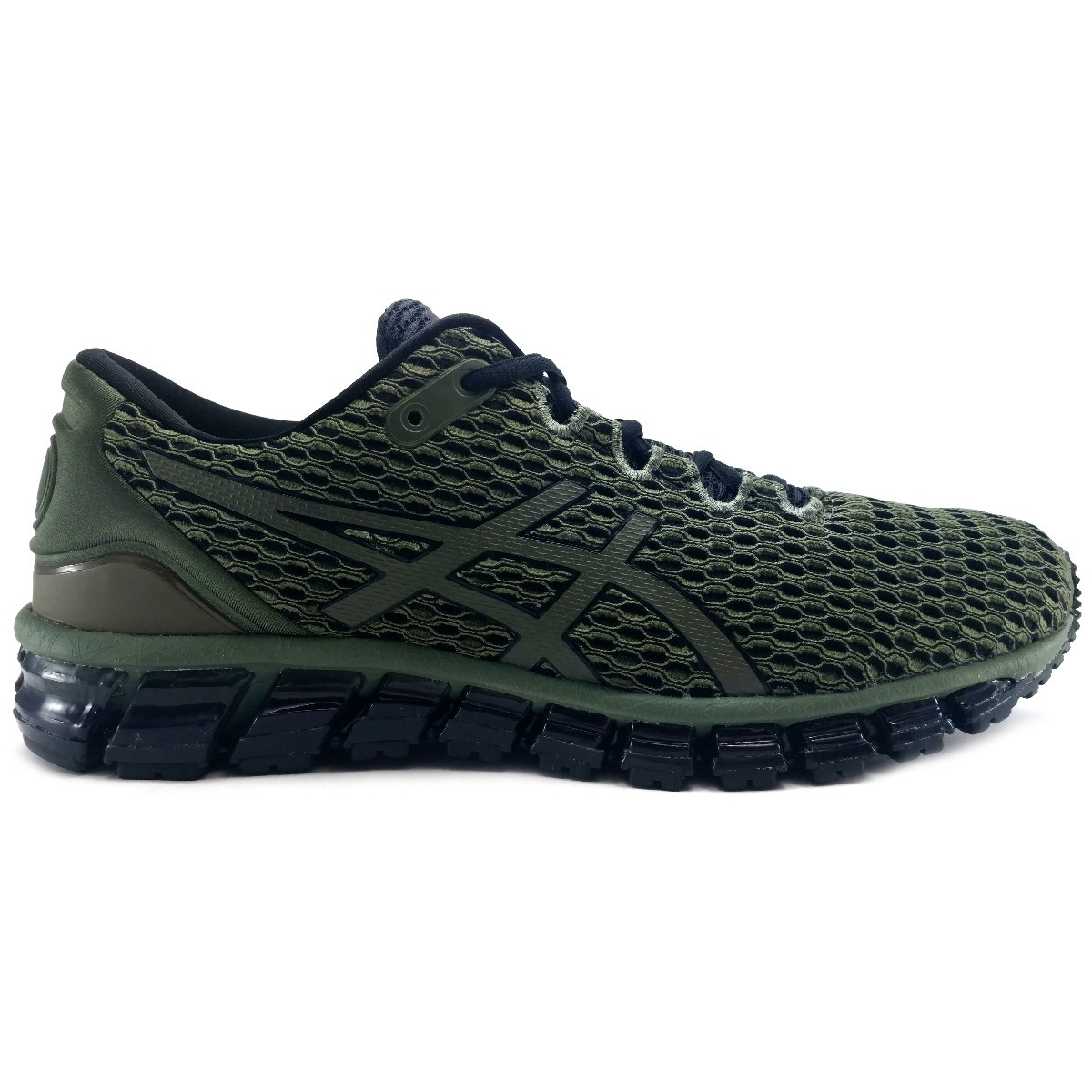 Tenis Asics Gel Quantum 360 Shift Verde Correr Running Gym