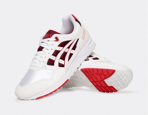 Tenis Asics Gel Saga White red Nasotafi2