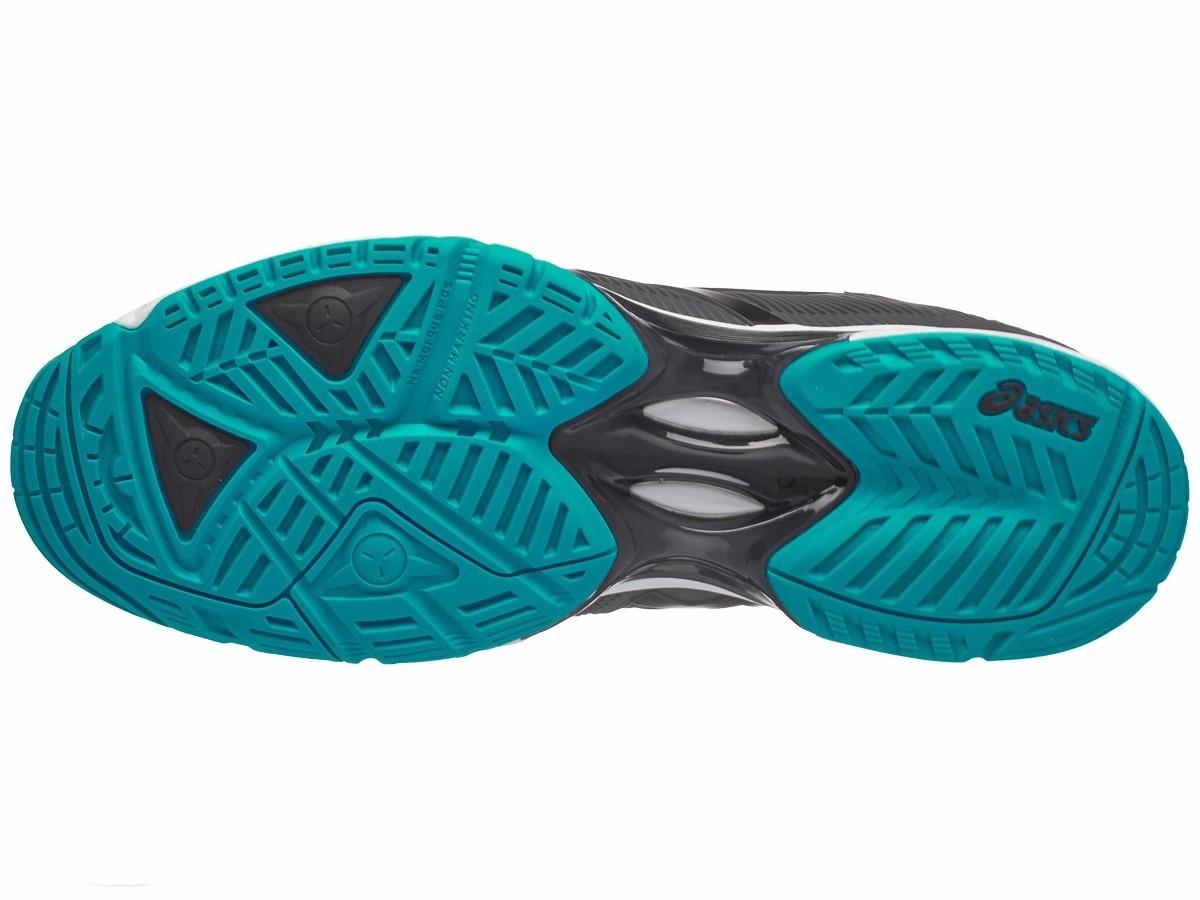 0a4d9f0bdaf08 tenis asics gel solution speed 3 gris negro azul. Cargando zoom.