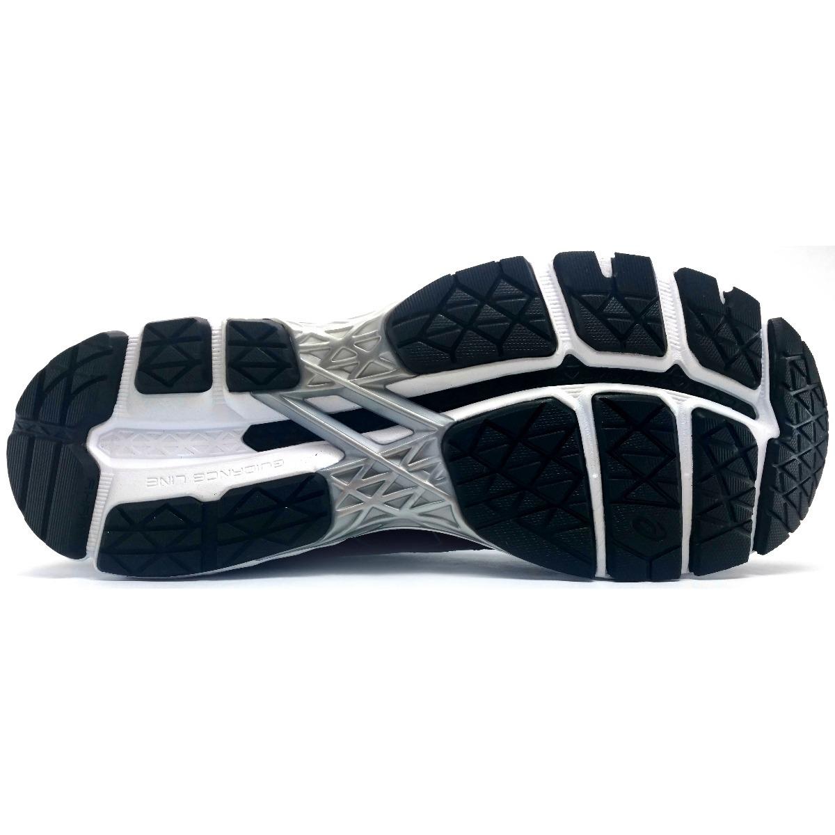 tenis asics gel surveyor 5 negro correr running pronador. Cargando zoom. eee9e1e345c4d