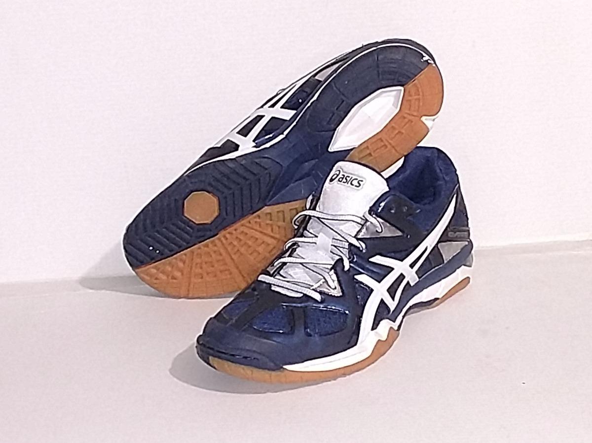 54abff3d83 Tenis Asics Gel-tactic Azul Blan De Voleibol