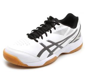 e95c57dfbd6 Tenis Asics Gel Toque Br Futsal Tenis Volei Masculino Branco