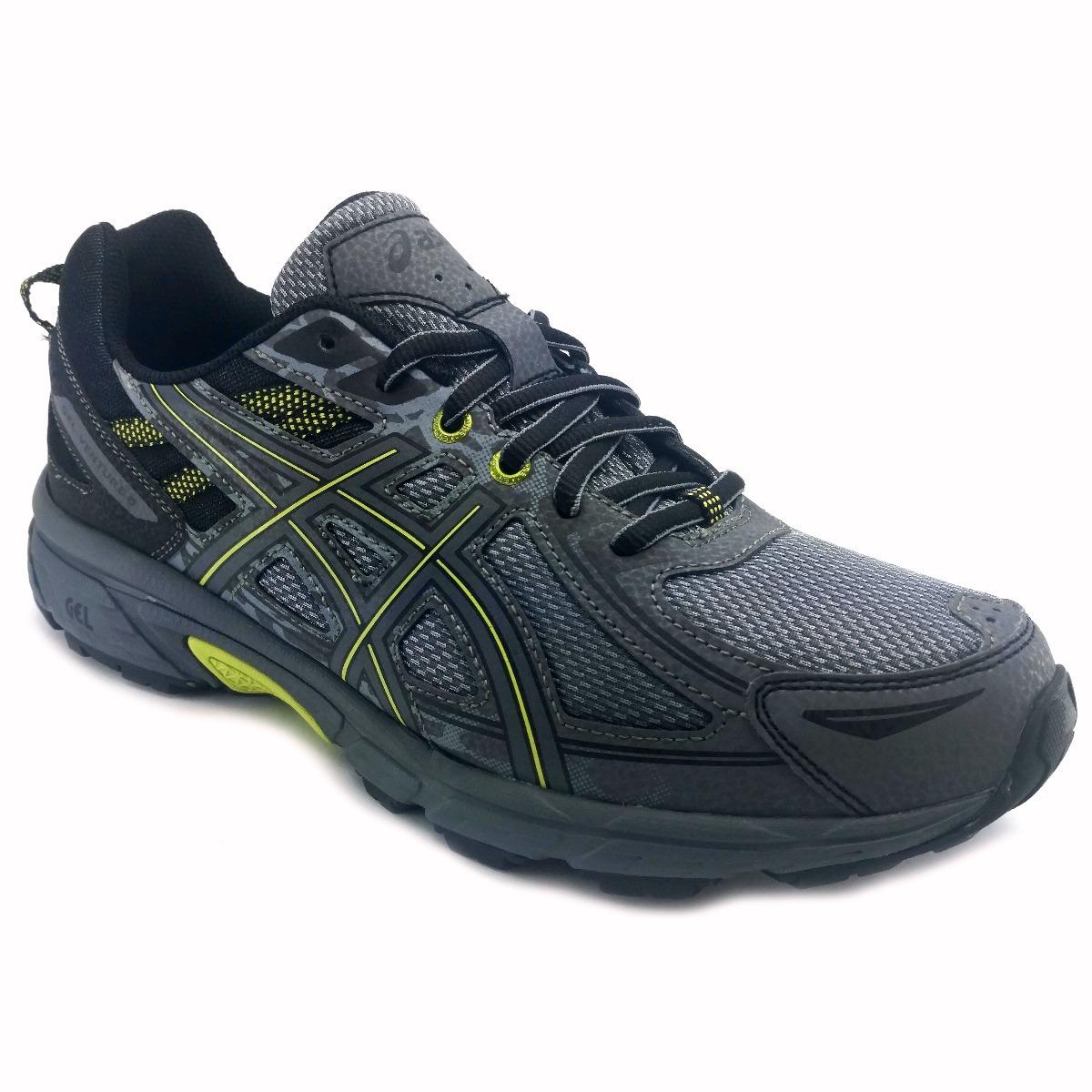 tenis asics gel venture 6 gris trail running correr. Cargando zoom. 8d03f667d9fdf