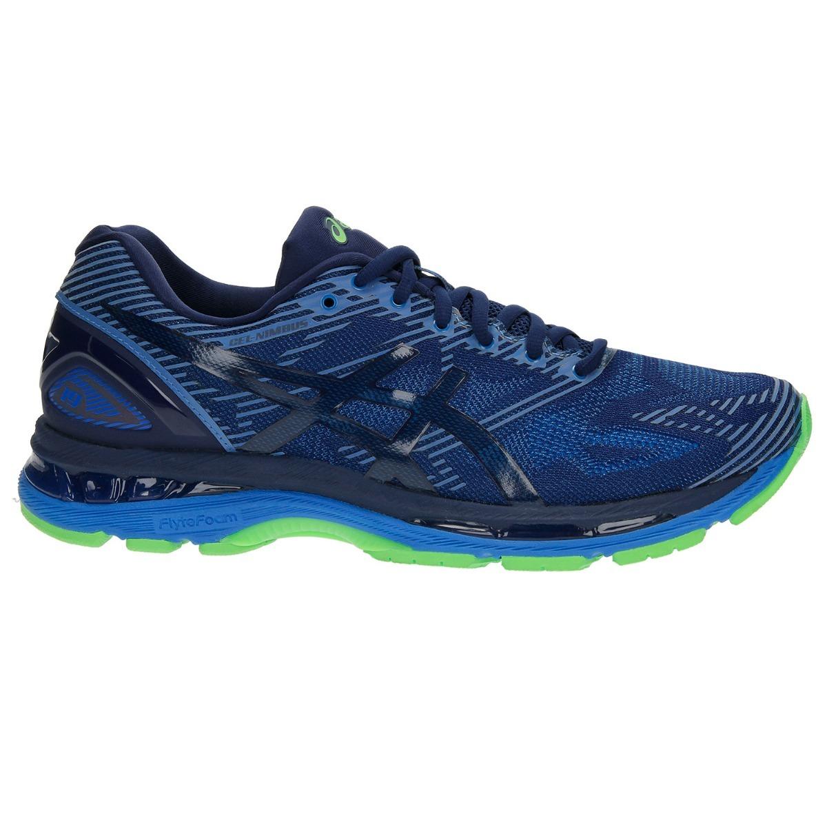 Tenis Asics Hombre Azul Gel Nimbus 19 Lite Show T7c3n4943
