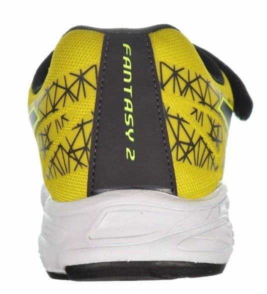Tenis Asics Infantil Fantasy Ii Ps Rosa pto amarelo - R  159 1c78bbb72400e
