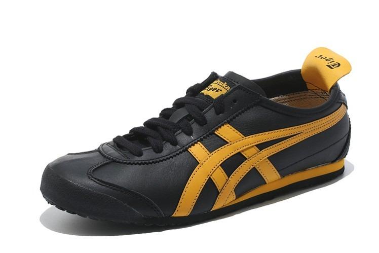 5eb81d57bfe08 Tenis Asics Onitsuka Tiger Mexico 66 Black Yellow -   2