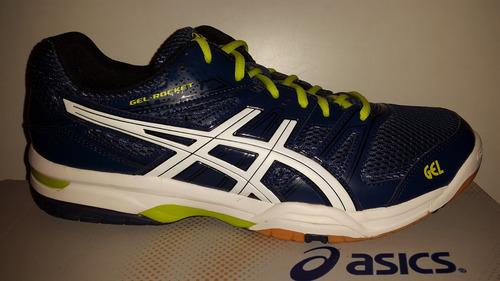 18ee9c44295b4 Tenis Asics Rocket 7 Azul Para Voleibol, Handball, Gym - $ 1,150.00 ...